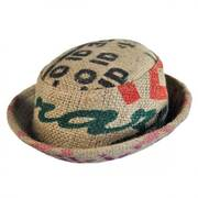 Havana Coffee Works Jute Pork Pie Hat