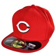 Cincinnati Reds MLB Home 59Fifty Fitted Baseball Cap