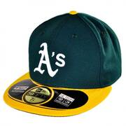 Oakland Athletics MLB Home 59Fifty Fitted Baseball Cap
