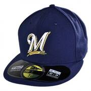 Milwaukee Brewers MLB Game 59Fifty Fitted Baseball Cap