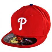Philadelphia Phillies MLB Game 59Fifty Fitted Baseball Cap