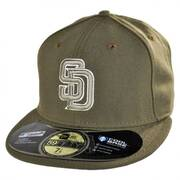 San Diego Padres MLB Alt 59Fifty Fitted Baseball Cap