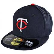 Minnesota Twins MLB Home 59Fifty Fitted Baseball Cap