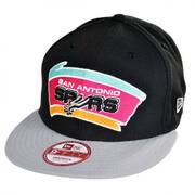 San Antonio Spurs NBA Hardwood Classics 9Fifty Snapback Baseball Cap