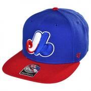 Montreal Expos MLB Sure Shot Snapback Baseball Cap