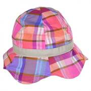 Baby Plaid Cotton Bucket Hat