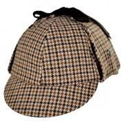 Sherlock Holmes Houndstooth Wool Blend Hat