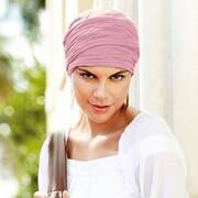 Basic Long Crinkled Cotton Turban