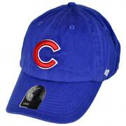 Chicago Cubs MLB Clean Up Strapback Baseball Cap Dad Hat