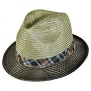 Tennessee Ramie Straw Fedora Hat