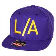 Los Angeles Lakers NBA Divided Snapback Baseball Cap