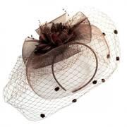 Dahlia Fascinator Headband