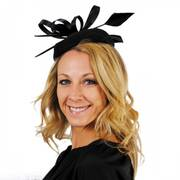 Charisse Wool Pillbox Fascinator Hat