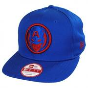Marvel Captain America 9Fifty Cabesa Snapback Baseball Cap