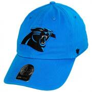 Carolina Panthers NFL Clean Up Strapback Baseball Cap Dad Hat
