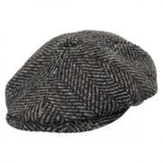 Italian Wool Newsboy Cap