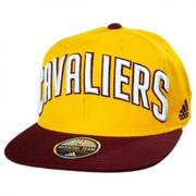 Cleveland Cavaliers NBA adidas On-Court Snapback Baseball Cap