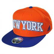 New York Knicks NBA adidas On-Court Snapback Baseball Cap