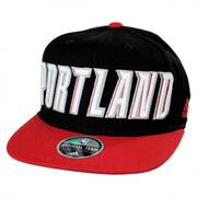 Portland Trail Blazers NBA adidas On-Court Snapback Baseball Cap