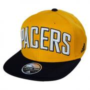 Indiana Pacers NBA adidas On-Court Snapback Baseball Cap