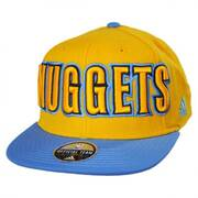 Denver Nuggets NBA adidas On-Court Snapback Baseball Cap