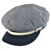 Striped Cotton Fiddler Cap