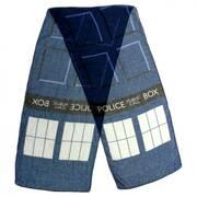 TARDIS Lightweight Scarf