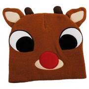 Rudolph Knit Beanie Hat