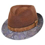 Remix Toyo Straw Fedora Hat