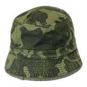 Reversible Buckley Cotton Bucket Hat