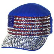 Stud USA Flag Cadet Cap