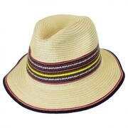 Coney Island Toyo Straw Fedora Hat