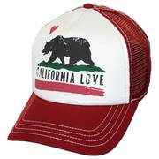 California Love Trucker Snapback Baseball Cap