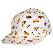 Food Trucker Strapback Baseball Cap
