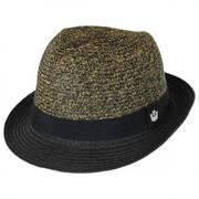 Sand Cassel Kids' Thrasher Toyo Straw Fedora Hat