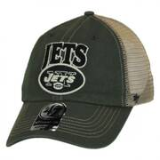 New York Jets NFL Tuscaloosa Mesh Fitted Baseball Cap