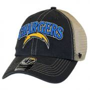 Los Angeles Chargers NFL Tuscaloosa Mesh Fitted Baseball Cap