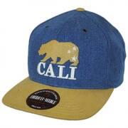 Timber Cali Bear Strapback Baseball Cap