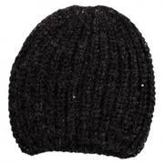 Sequin Knit Beanie Hat