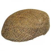 Seagrass Straw Ascot Cap