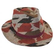 Arizona Wool Blend Safari Fedora Hat