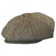 Kids' Herringbone Wool Blend Newsboy Cap