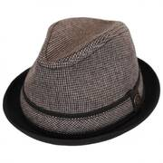 Side Kick Wool Blend Trilby Fedora Hat