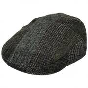 Lauren Plaid Harris Tweed Wool Ivy Cap