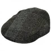 Lauren Plaid Harris Tweed Wool Ivy Cap