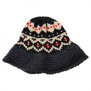 Fairisle Knit Bucket Hat