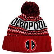Marvel Comics Deadpool Winter Knit Beanie Hat