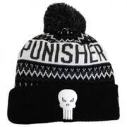 Marvel Comics Punisher Winter Knit Beanie Hat