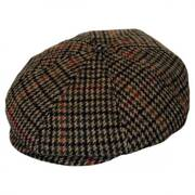 Brood Chunky Plaid Newsboy Cap