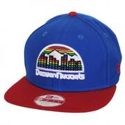 Denver Nuggets NBA Hardwood Classics 9Fifty Snapback Baseball Cap